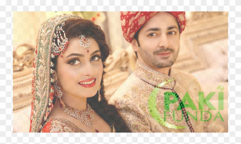 The Power Celebrity Couple Got Married Back In Danish And Aiza Wedding Hd Png Download 750x425 6122976 Pngfind