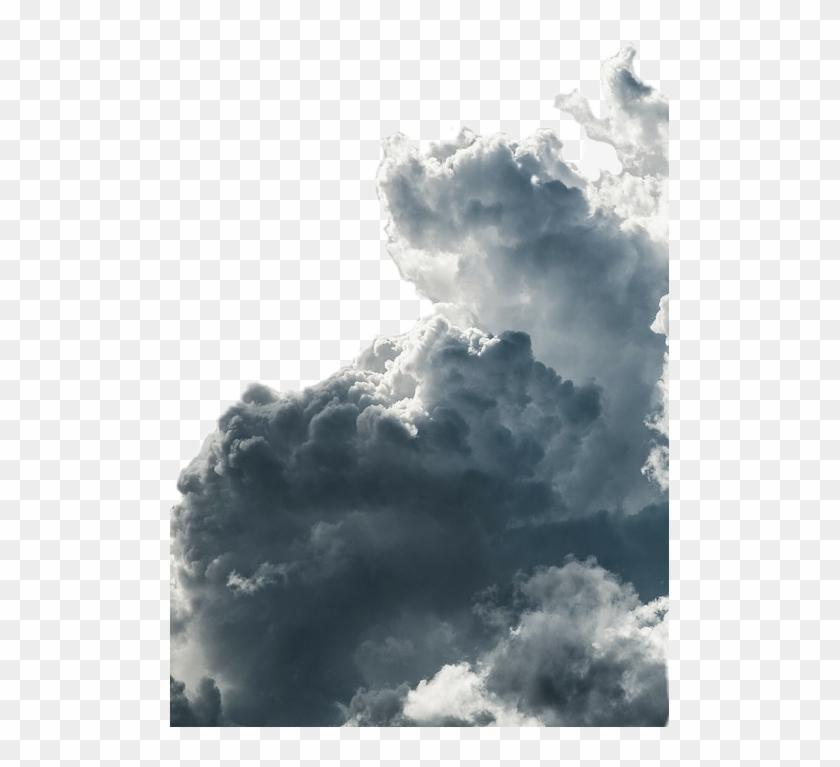 cloud #clouds #dark #sky #nuve #storm #rail - Grey Sky