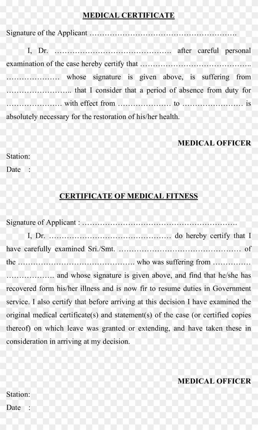 Free Blank Medical Certificate Templates At Allbusinesstemplates Intended For Free Fake Medical Certificate Template