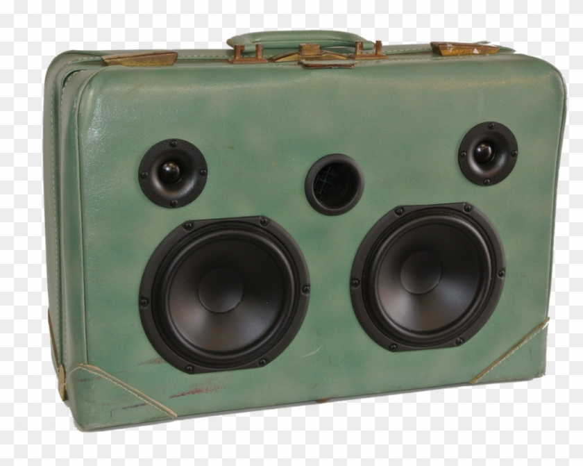 The Sonic Suitcase - Subwoofer, HD Png Download - 1024x877
