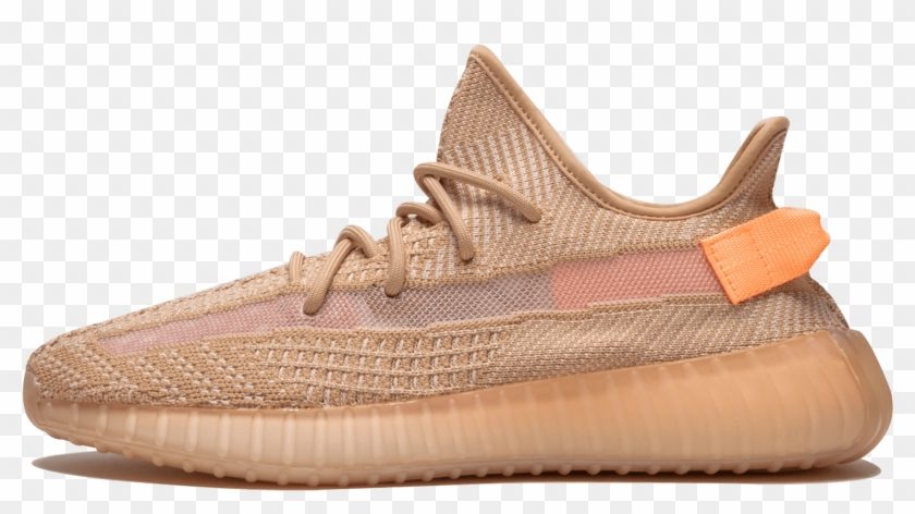 Adidas Yeezy Boost 350 V2 Clay, HD Png