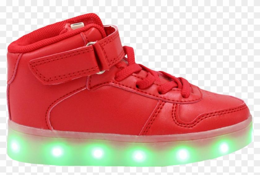 b22117d4702cb Galaxy Led Shoes Light Up Usb Charging High Top Lace - Light Up ...