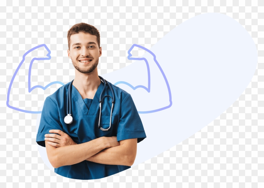 Nurse Walking Png Confidence In Nursing Transparent Png 1200x798 6167606 Pngfind