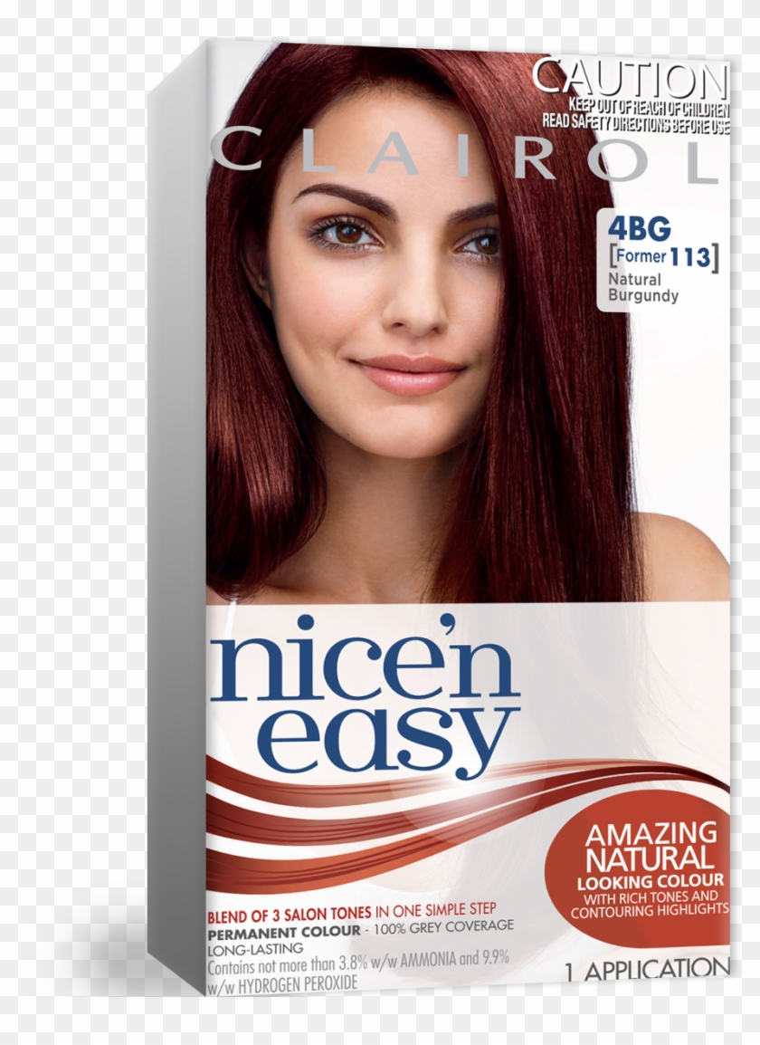 Permanent Red Hair Colour Pertaining To Best Burgundy - Nice N Easy