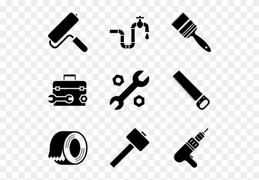 Tools - Icon Construction Tools Png, Transparent Png
