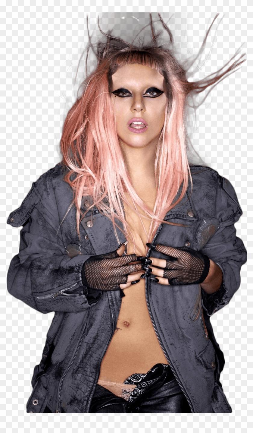 Front View Lady Gaga - Lady Gaga Born This Way Png