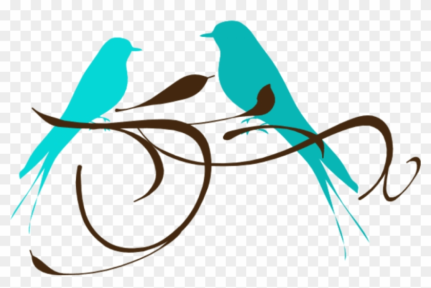 Free Png Download Teal Love Birds Png Images Background - Teal Love