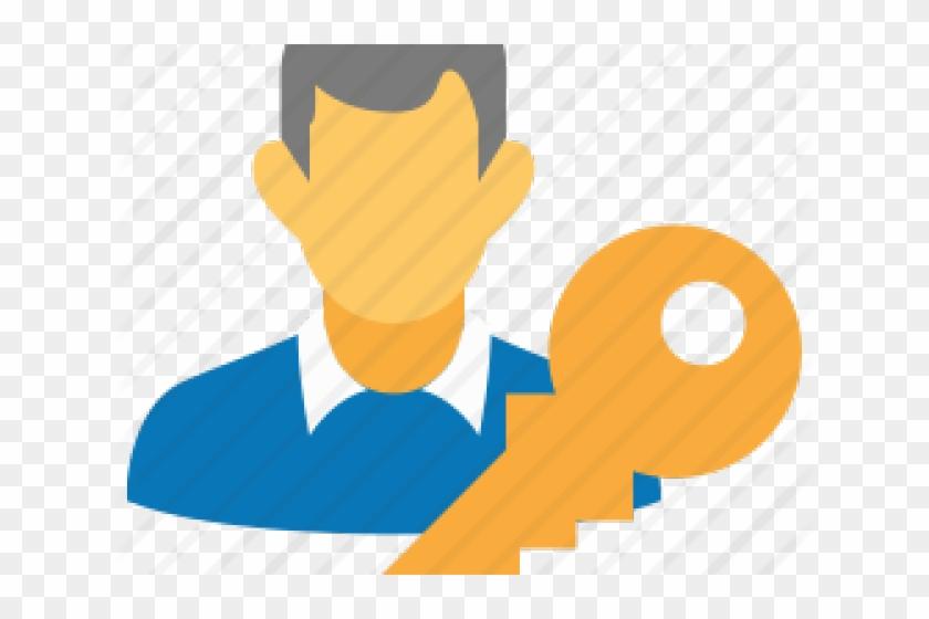 Log Clipart User Login - Customer Icon Flat, HD Png Download