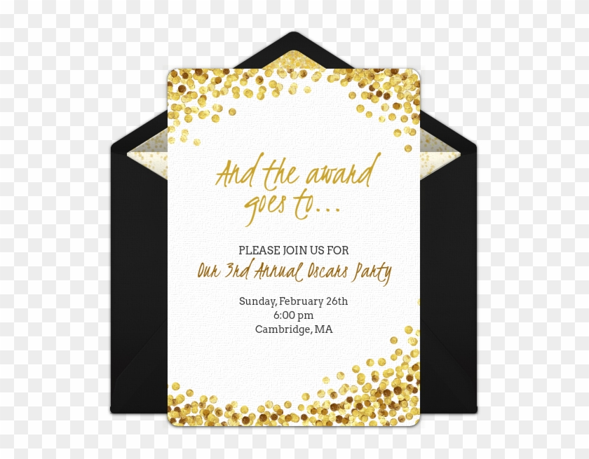 Free Awards Night Invitations In 2019 Oscar Party