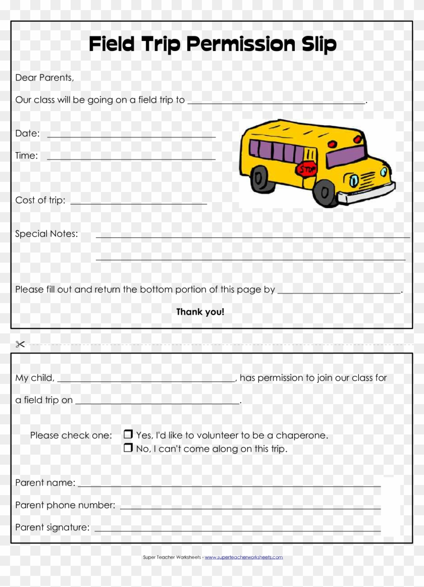 Field Trip Permission Form Template from www.pngfind.com