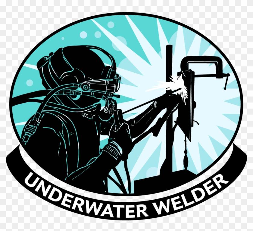 Welder Png Underwater Welding Logo Transparent Png 1125x973 6240220 Pngfind