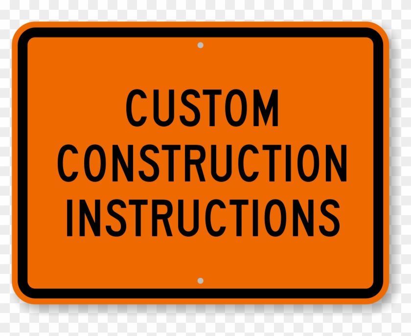 photograph regarding Printable Construction Signs identify Personalized Framework Indicator - Printable Custom made Framework