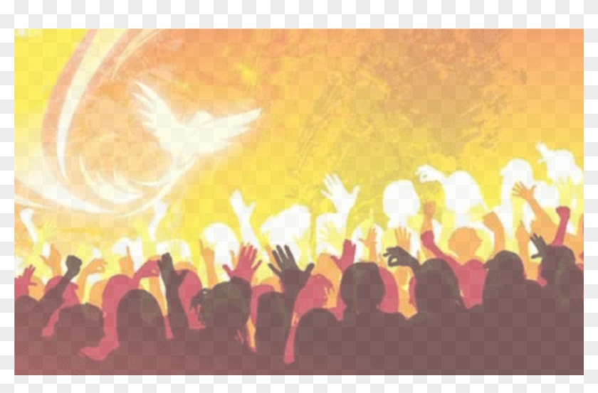 Pentecost And Graduation - Holy Spirit On People, HD Png Download