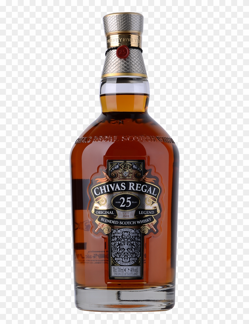 b125d900f29 Chivas Regal 25 Year Old Blended Scotch 70cl - Chivas Regal 25, HD Png  Download