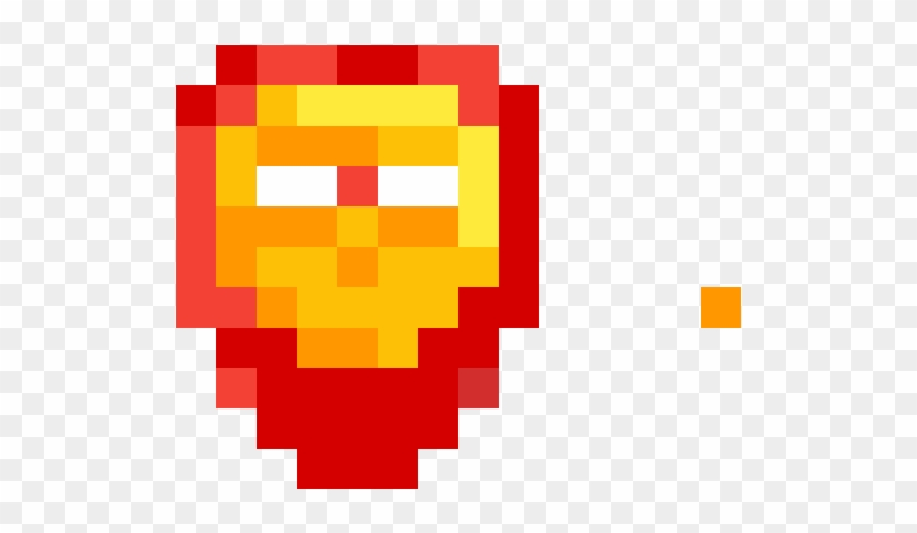 Iron Man Mask Rapide Pixel Art Facile Hd Png Download