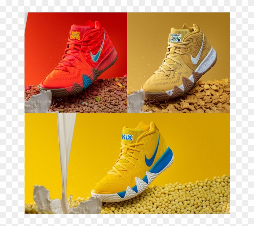 "best service ada28 0a643 Nike Kyrie 4 ""cereal Pack"" - Kyrie Cinnamon Toast Crunch ..."