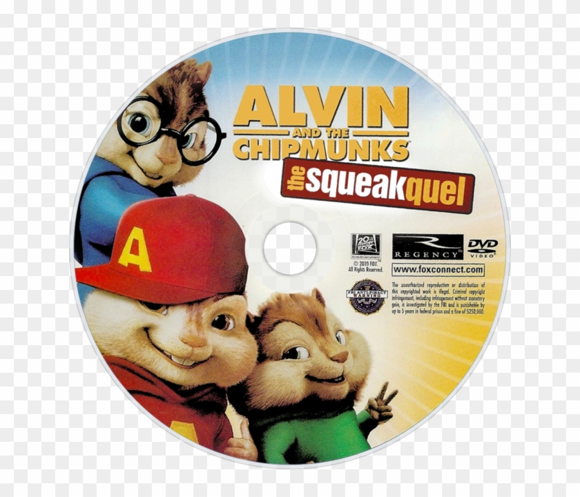 Alvin And The Chipmunks 2 Dvd Cover