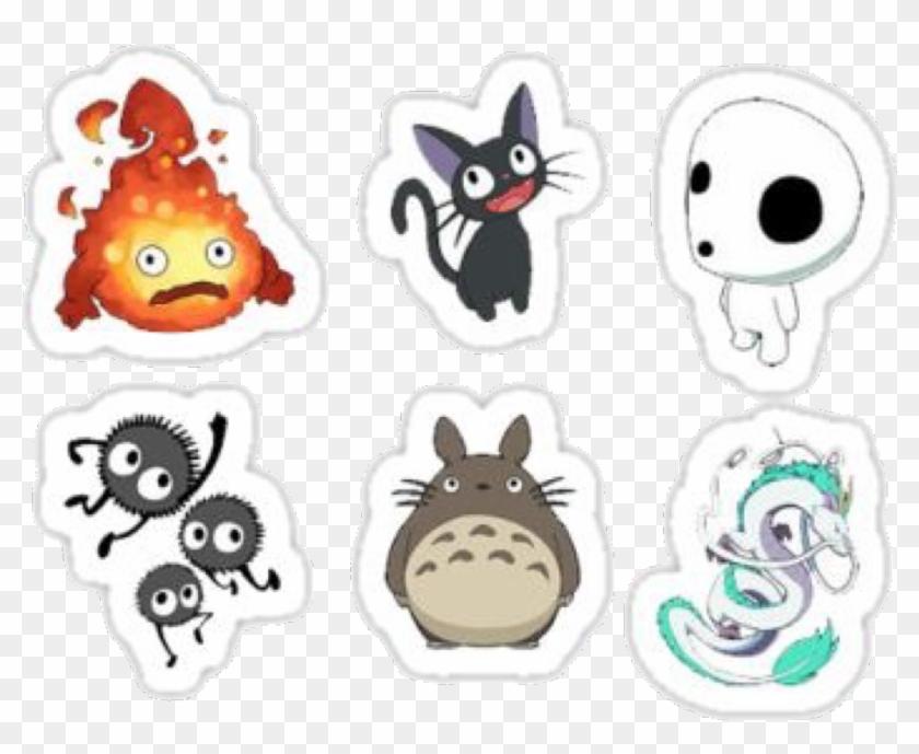 Spiritedaway Totoro Totorolove Noface Animation Printable Studio Ghibli Stickers Hd Png Download 1024x792 6293061 Pngfind