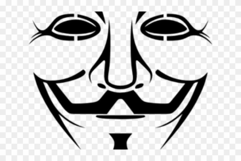 Joker Clipart Svg Guy Fawkes Mask Hd Png Download
