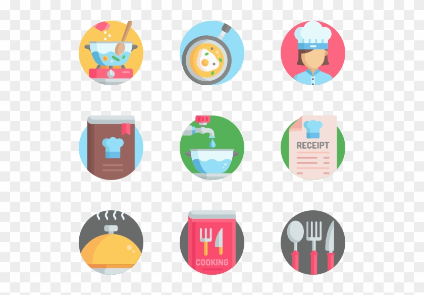 31 Chef Cooking Kitchen Icon Packs Hd Png Download
