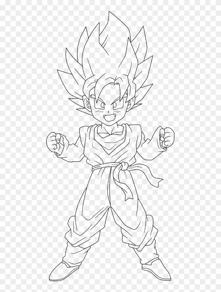 Dragon Ball Z Goten Drawing Super Saiyan Goten Drawing Hd