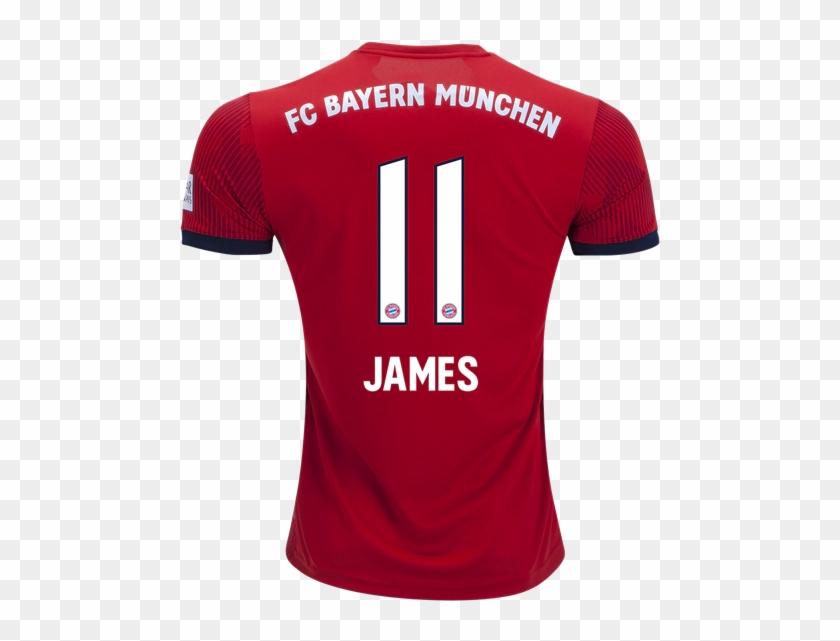 the best attitude 6f5da d8438 Bayern Munich 18/19 Home Jersey James Rodríguez - Virgil Van ...