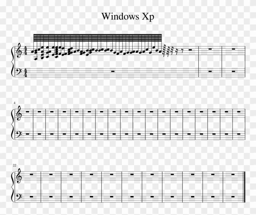 Windows Xp Sheet Music 1 Of 1 Pages - Sunday Candy Piano Sheet Music