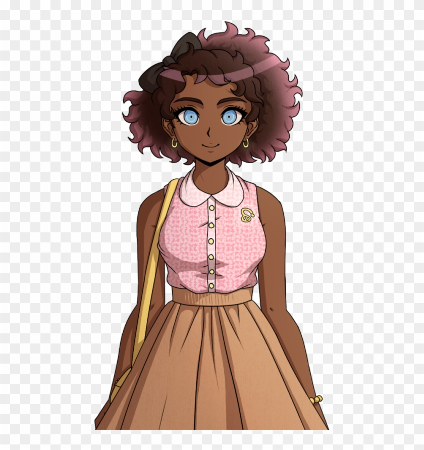 Re Did The Rose Fullbody And Gave Her Some Extra Basic Danganronpa Miu Full Body Highschool Sprites Hd Png Download 524x810 6317536 Pngfind