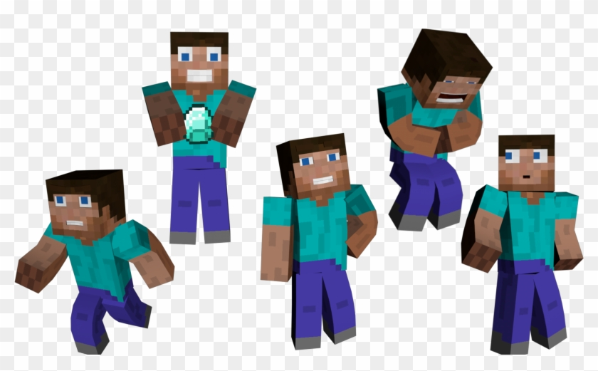 Minecraft Enderman And Steve Clipart Minecraft Hd Png