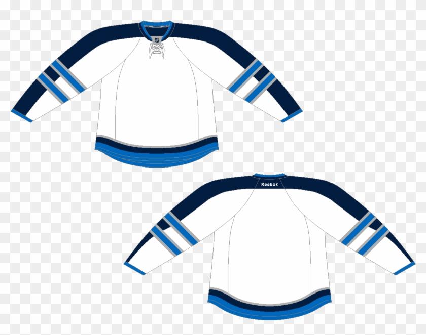competitive price f8d75 6cf41 Winnipeg Jets Patrik Laine Reebok White Away Premier - Blank ...