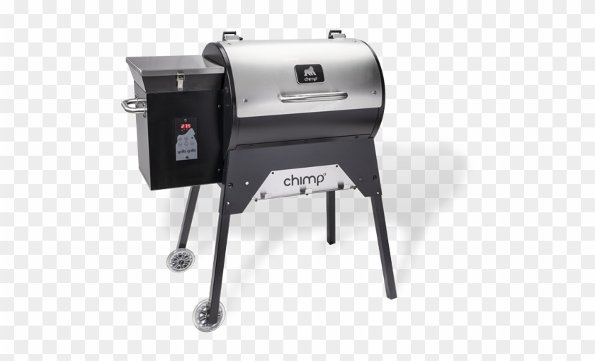 Chimp Portable Wood Pellet Grill - Grilla Grills Chimp, HD