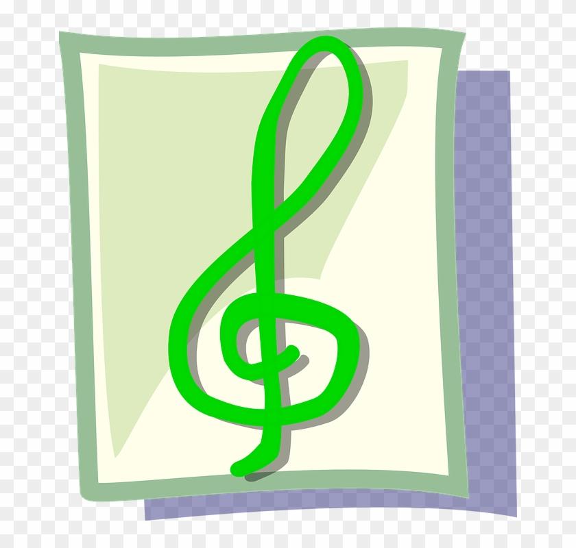 Music, Icon, Note, Theme, Sound - Notas Musicales En Color