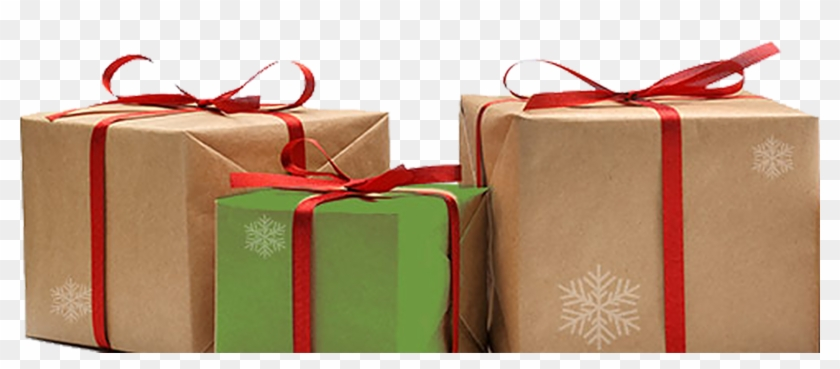 Christmas Presents Png.Gifts4 Brown Paper Christmas Presents Png Transparent Png