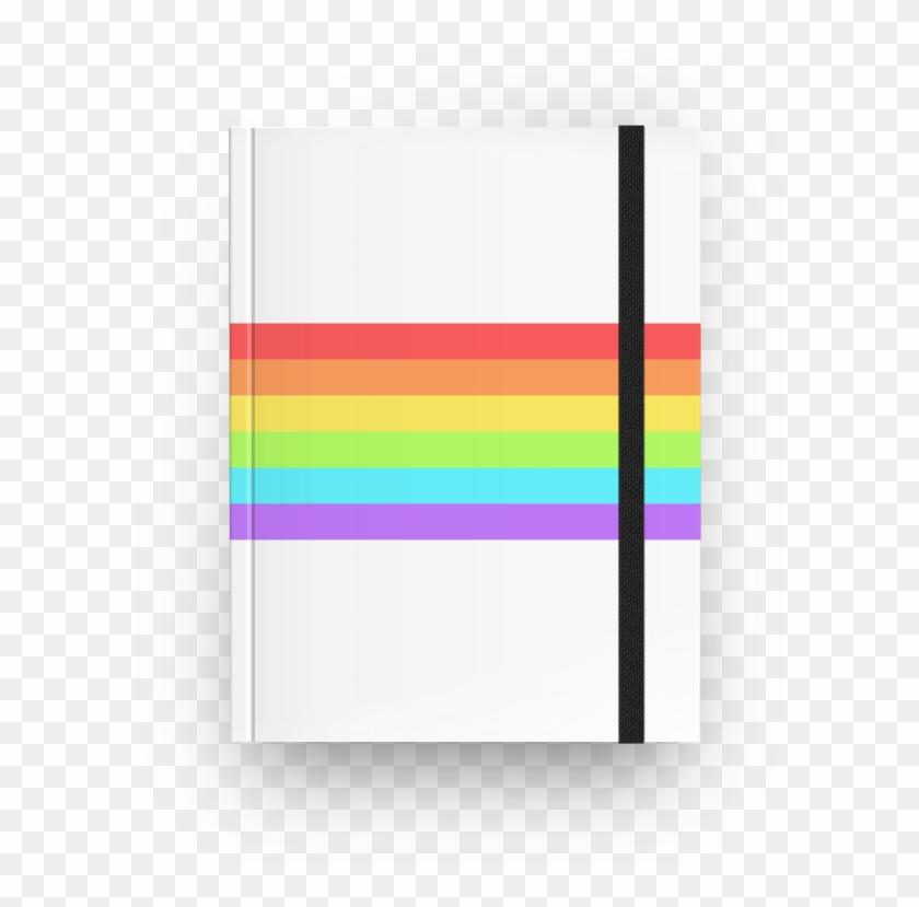 Caderno Pride Flag De Unicorn In A Comana , Png Download - Art