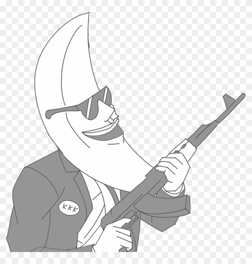 Moonman - Moon Man With A Gun, HD Png Download - 5000x5000