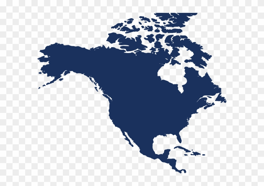 North America Png - North America Map Png, Transparent Png - 603x513 ...