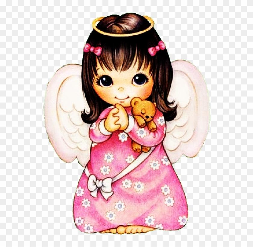 Hug Clipart Transparent Angels Clip Art Pink Hd Png Download 586x768 640487 Pngfind