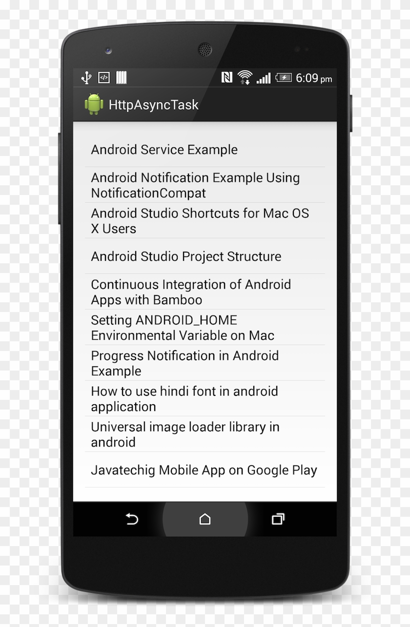 Xamarin Android Background Service - Smartphone, HD Png