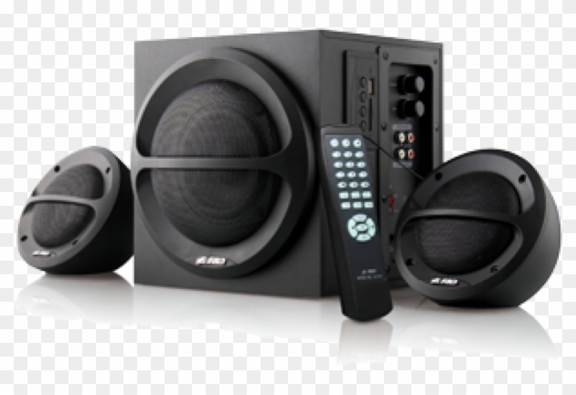 Music Speakers Png Png Download F D Home Theatre 2 1 Transparent Png 801x496 6430448 Pngfind