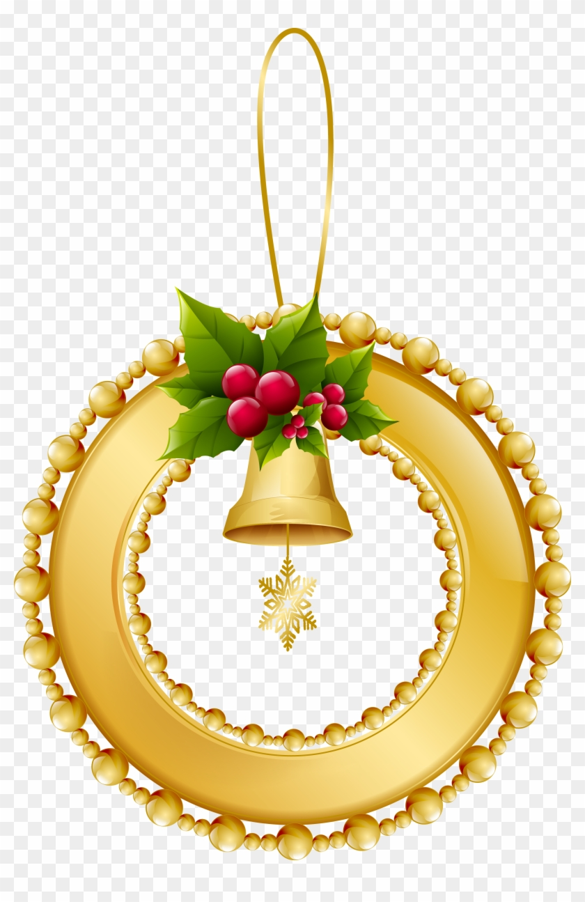 Gold Christmas Ornaments Png.Gold Christmas Balls Png Christmas Day Transparent Png