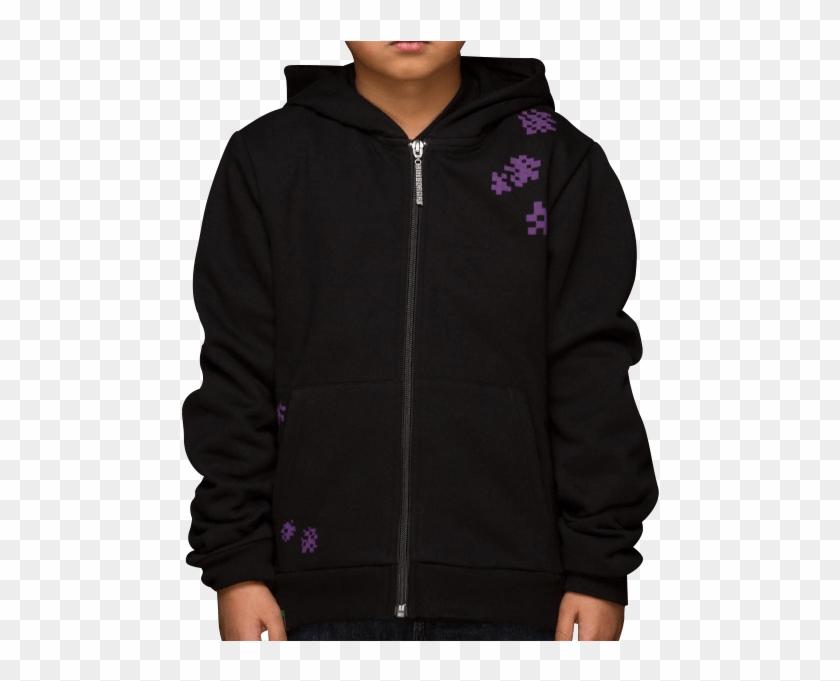 Minecraft Enderman Jacket Hoodie Hd Png Download