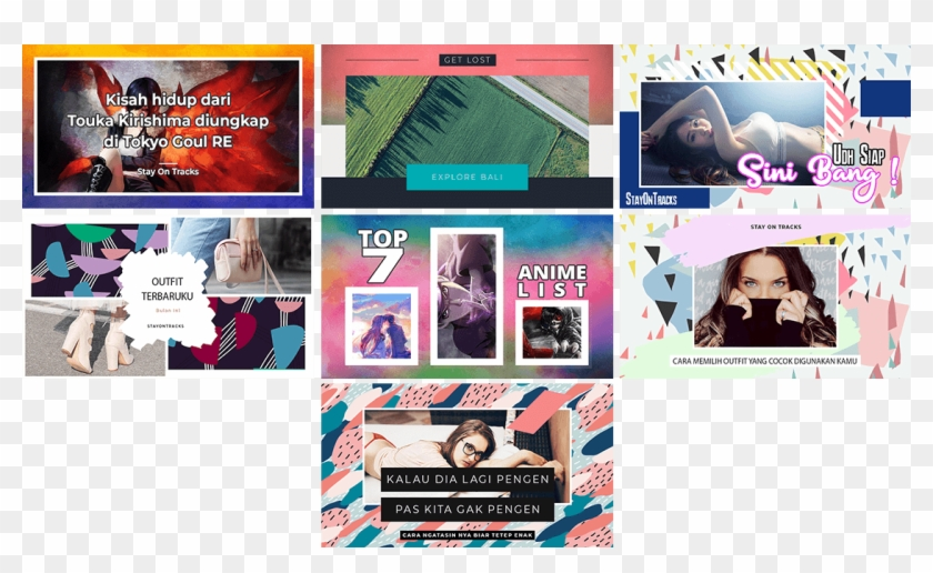 Thumbnail Youtube Indonesia - Collage, HD Png Download - 1120x635