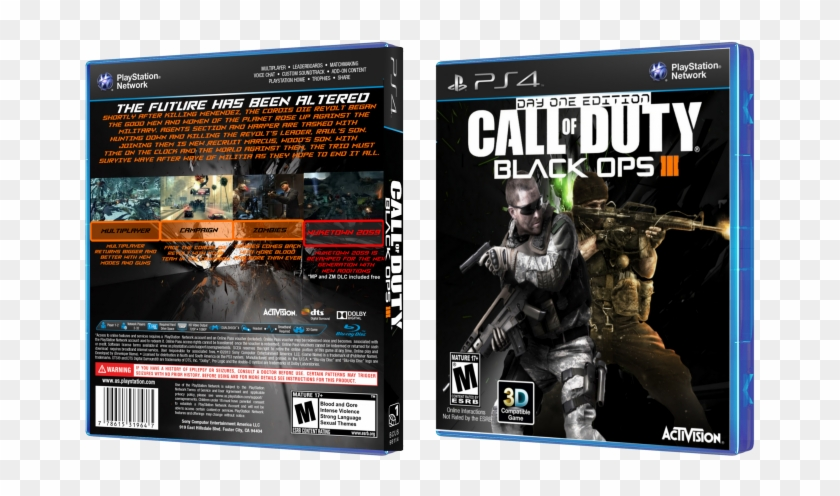 Call Of Duty - Call Of Duty Black Ops 3 Box, HD Png Download