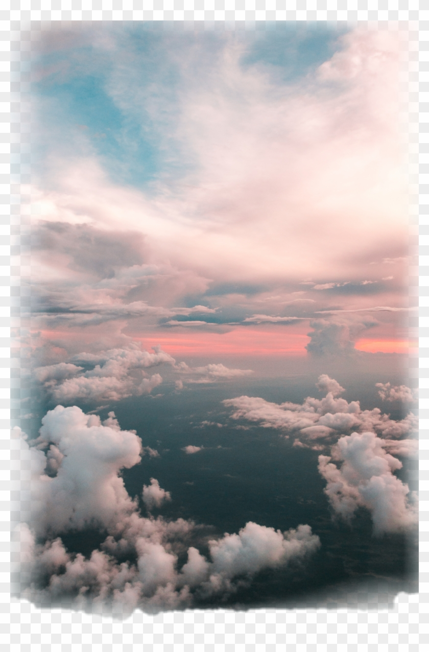 Ftestickers Clouds Sky Colorful Cloud Iphone Xr