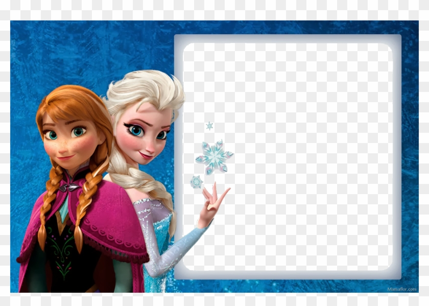 picture about Frozen Birthday Card Printable referred to as Marco Fotos Elsa Y Anna Frozen - Totally free Printable Editable
