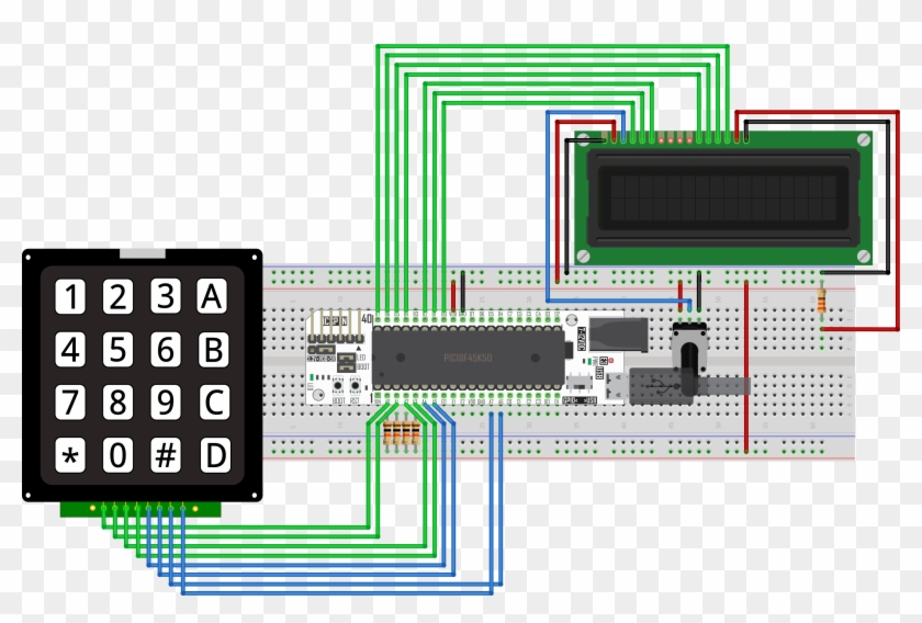 Show More Information - Arduino 4x4 Keypad Calculator, HD Png