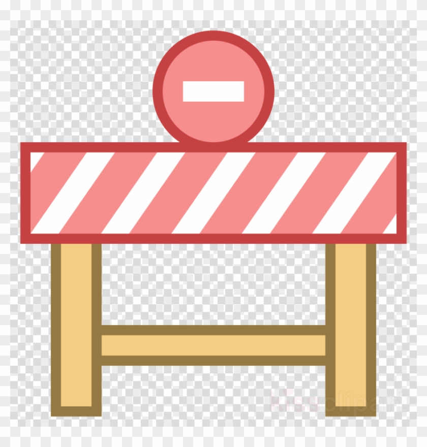 Furniture Line Transparent Image - Roadblock Clipart Png ...