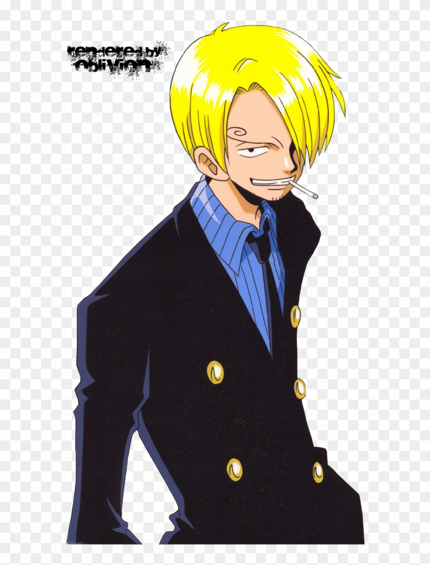 Sanji Of One Piece Hd Png Download 600x1026 6506942 Pngfind