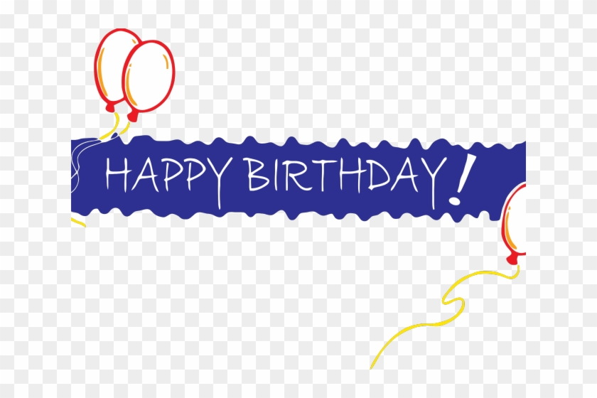 Happy Birthday Clipart Transparent Background Happy Birthday Banner Png Png Download 640x480 6515891 Pngfind