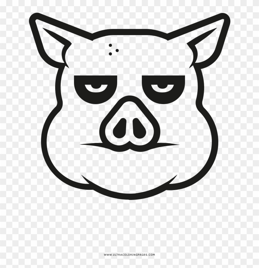 Bored Pig Coloring Page Derpy Coloring Page Hd Png Download 1000x1000 6535966 Pngfind